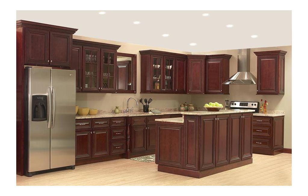JSI Georgetown Kitchen1 1024x652 Stock Kitchen Cabinets