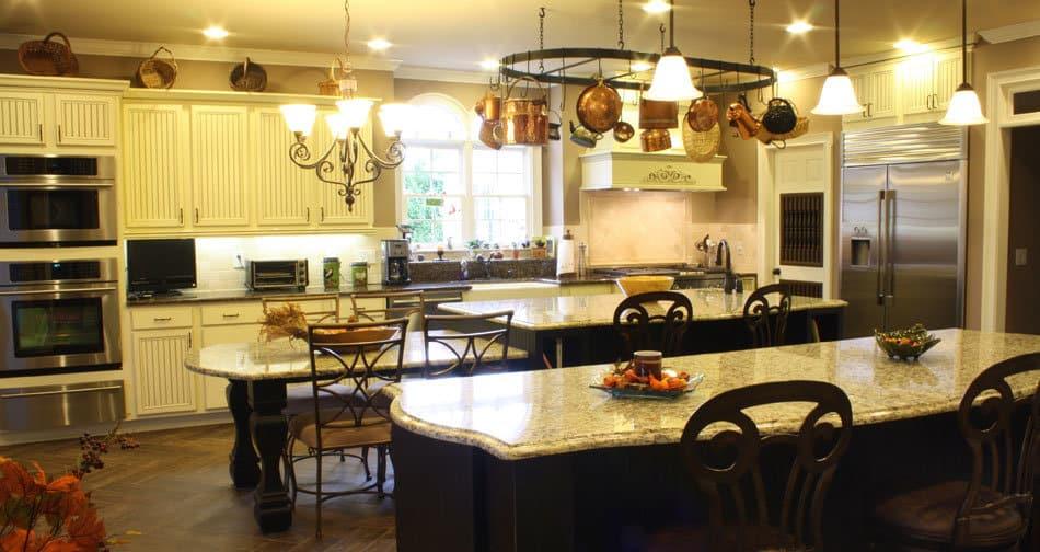 Kith Wilmington Maple Bright White Coffee Glaze Semi Custom Kitchen Cabinets