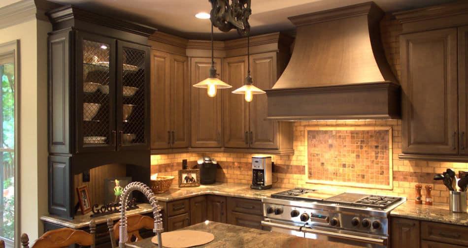 Kith Yorktown Maple Driftwood Vintage Glaze Semi Custom Kitchen Cabinets