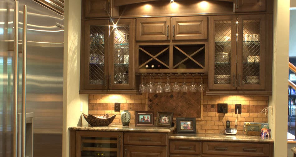 Kith Yorktown Maple Toffee Heirloom Semi Custom Kitchen Cabinets