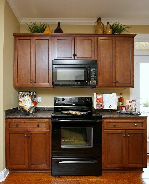Timberland Coffee Standard Finish1 Stock Kitchen Cabinets