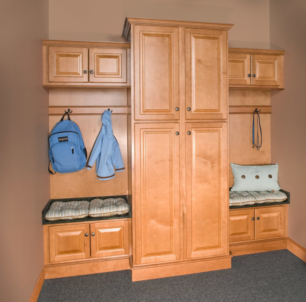 Wolf Saginaw Honey Stock Kitchen Cabinets