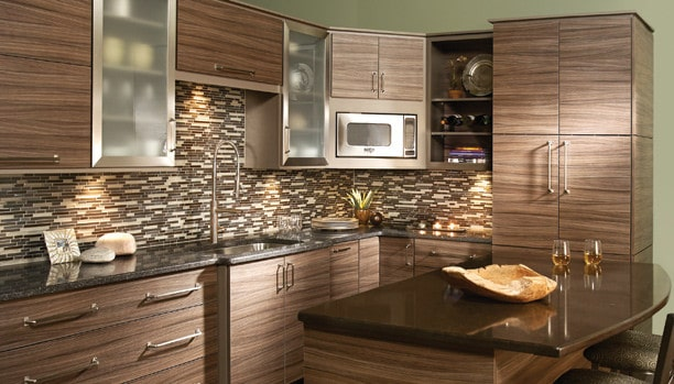 Woodland Loft HG Cliff Custom Kitchen Cabinets