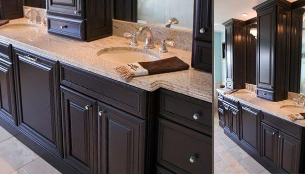 Woodland Provincial Alder Espresso Custom Kitchen Cabinets