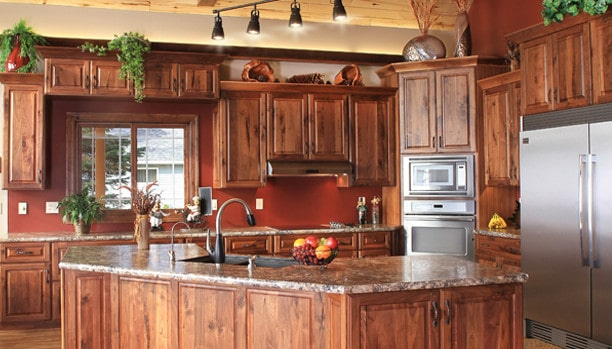 natural walnut kitchen cabinets custom kitchen cabinets island suffolk nassau 3458