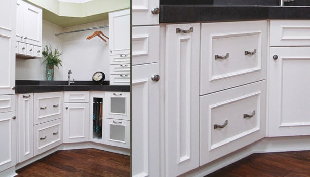 Woodland Vista Plus 5pc Maple Ivory Custom Kitchen Cabinets